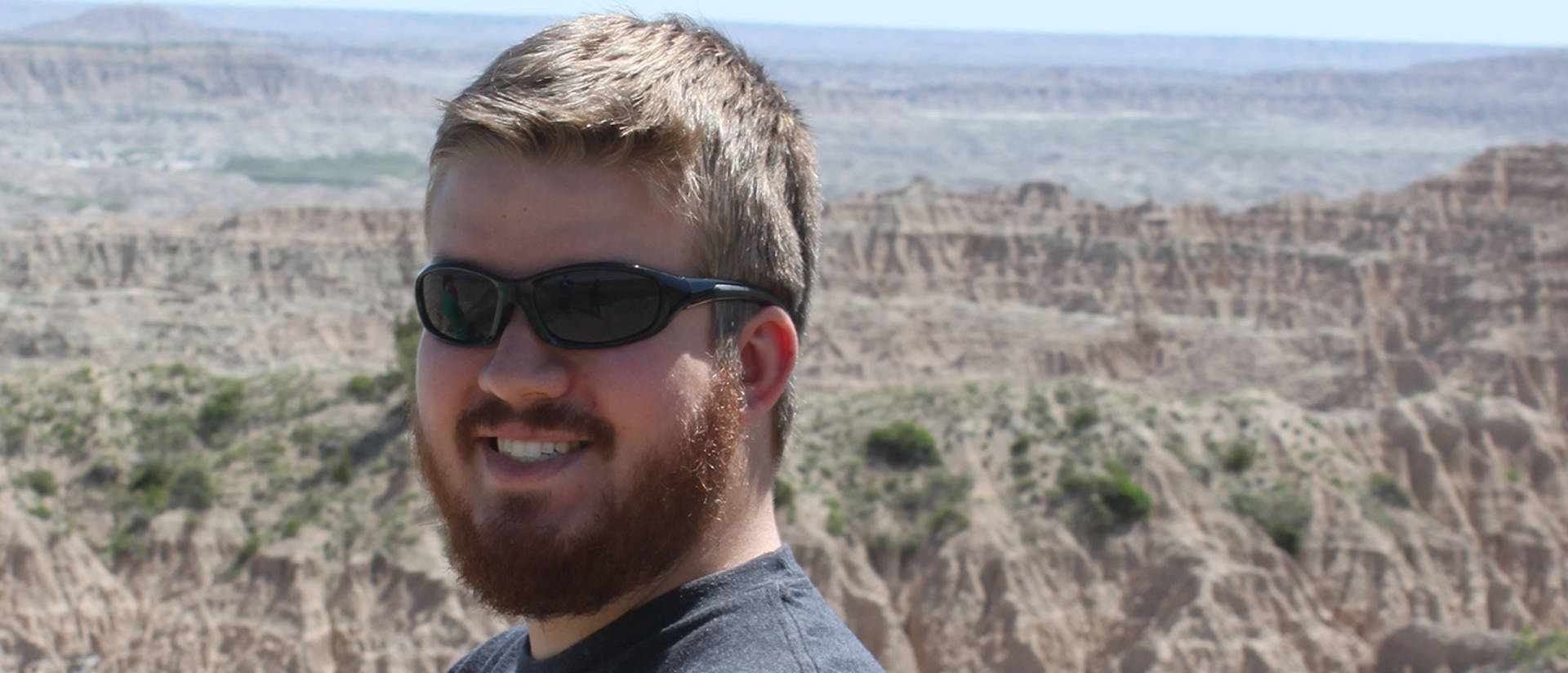 Senior Alec Thicke, an American Indian Studies major from Rochester, Minnesota, will serve as one of two trip mentors for the 2016 Pine Ridge Immersion.