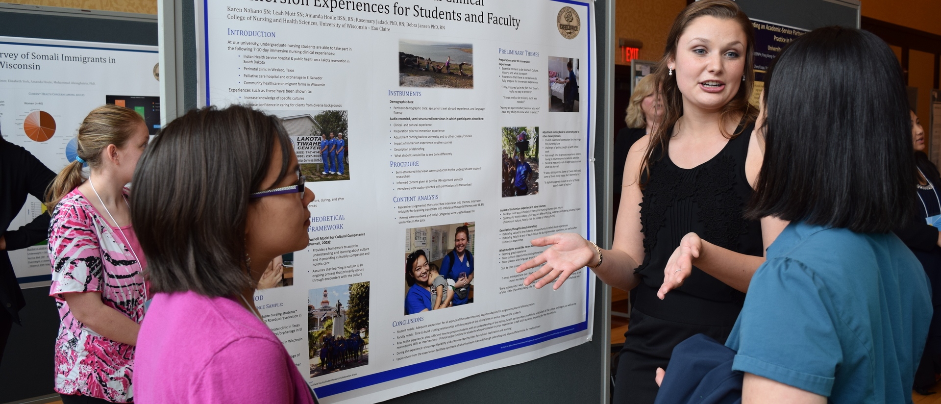 Last year Karen Nakano and Leah Mott discussed their research.