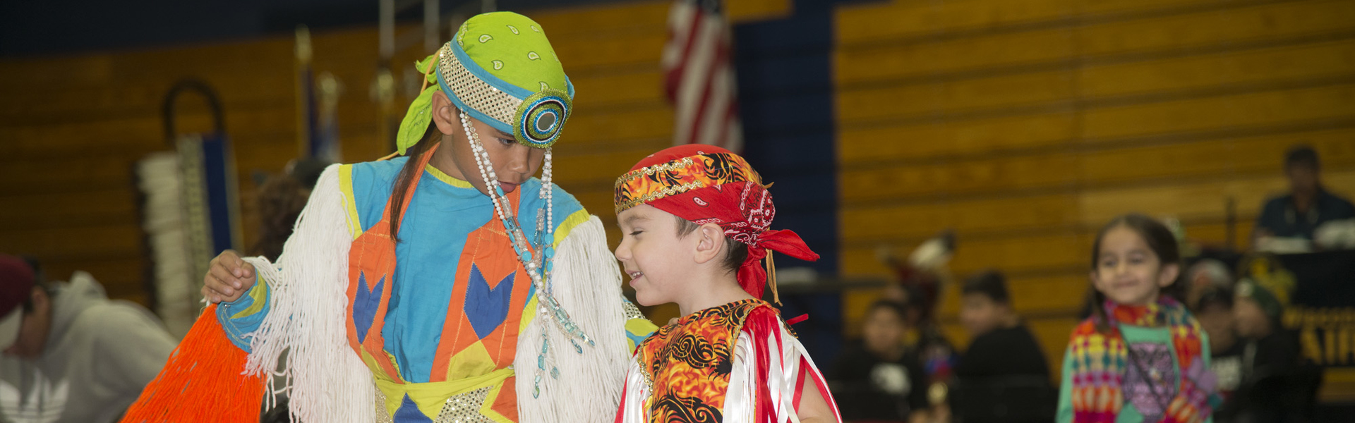 Youth dancer at 2016 PowWow
