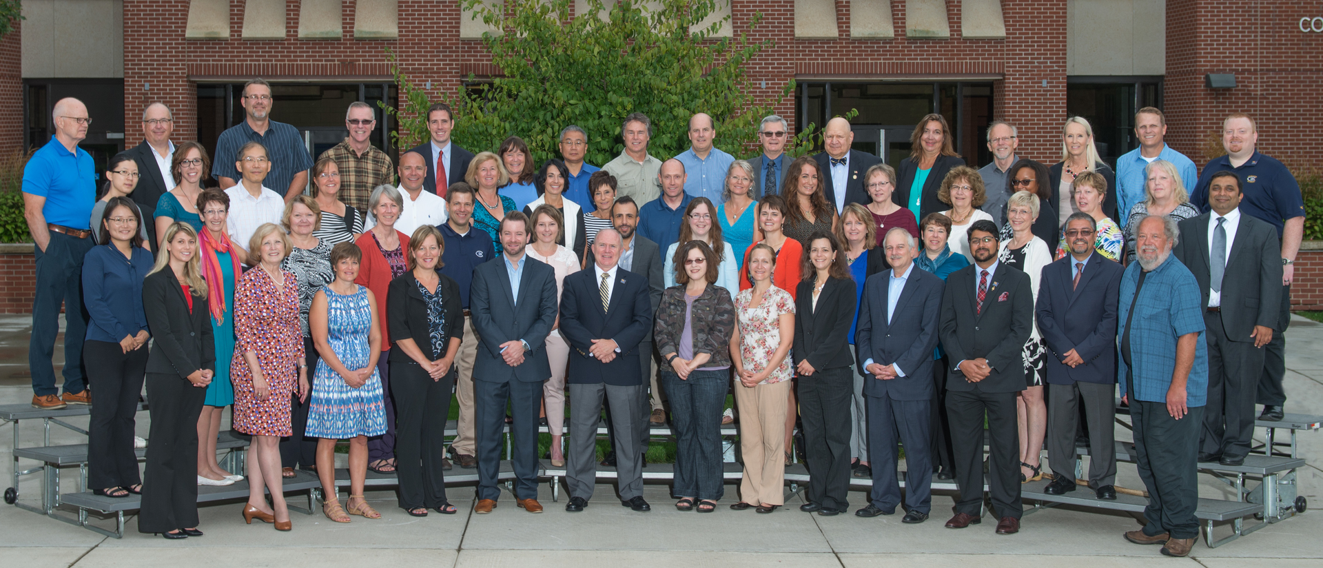 50th anniversary faculty and staff