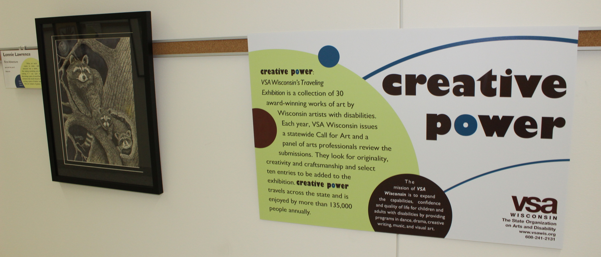 Creative Power: VSA Wisconsin's Traveling Exhibition