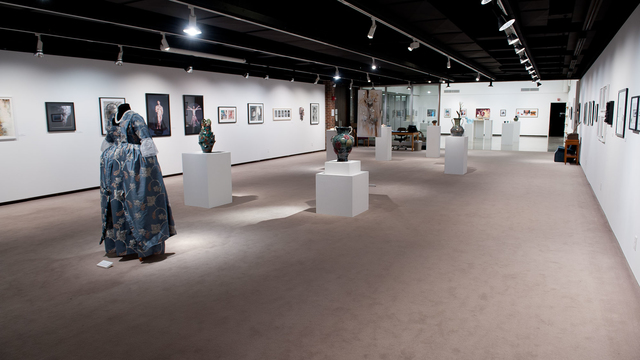 Juried art Show in the Foster Gallery 2015
