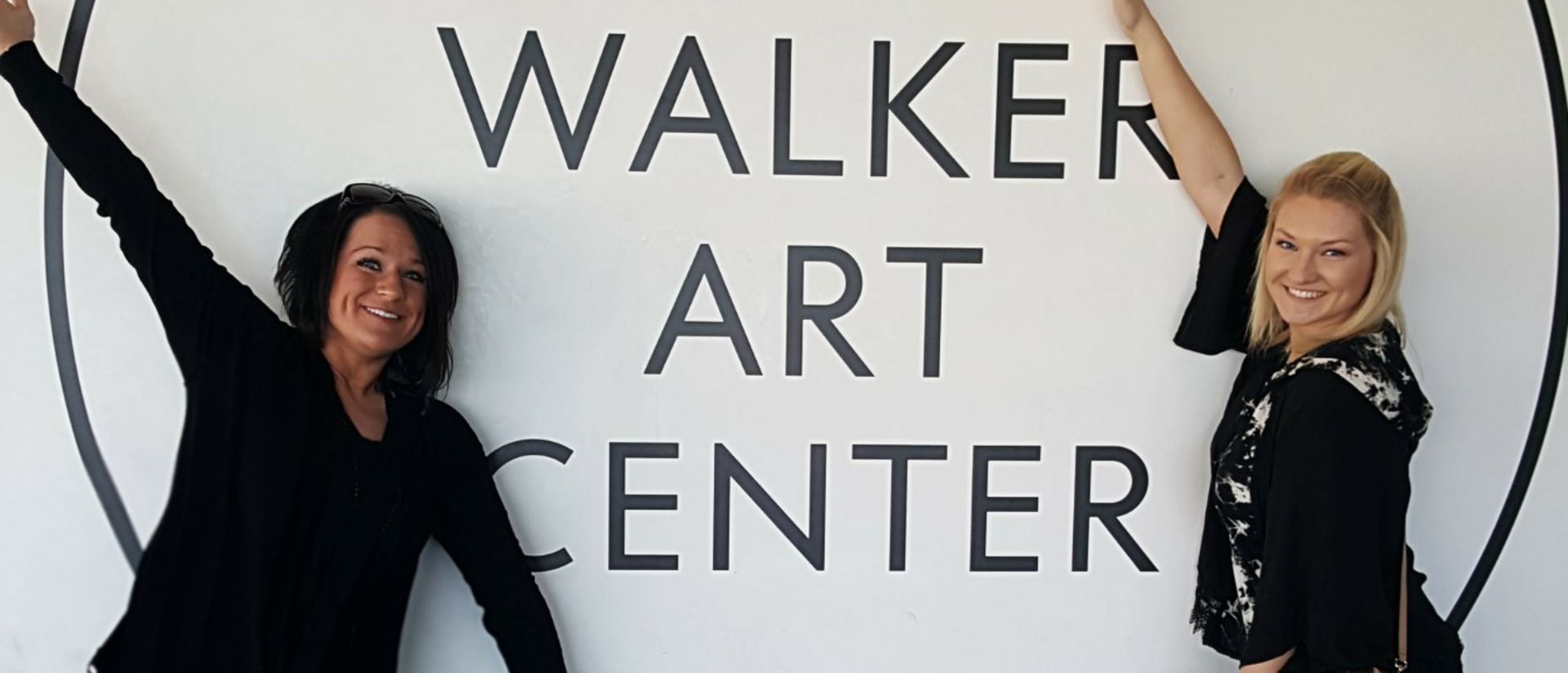 Students visit the Walker Art Center in Minneapolis