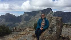 Gilman Scholar Mariah Sands in South Africa