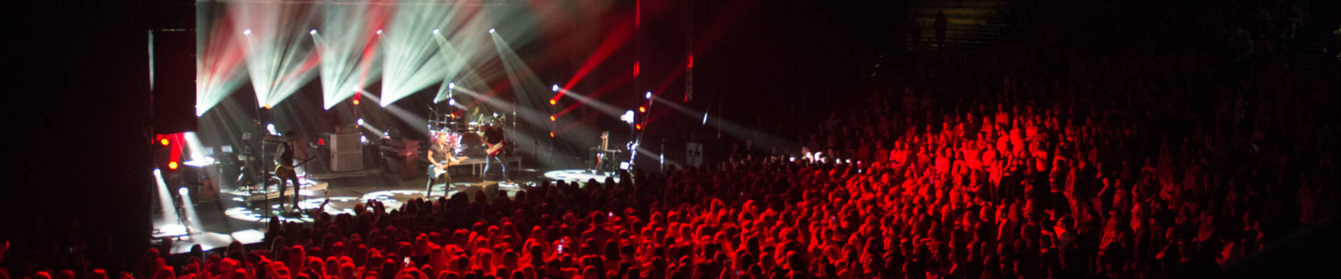 Country music star, Hunter Hayes, performing at UW-Eau Claire in Zorn Arena