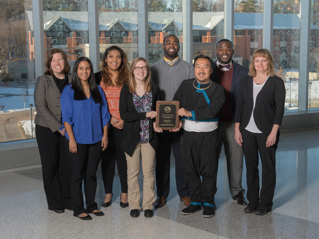 Blugold Beginnings team earns Regents Diversity Award