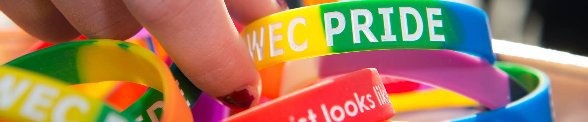 National Coming Out Day bracelets