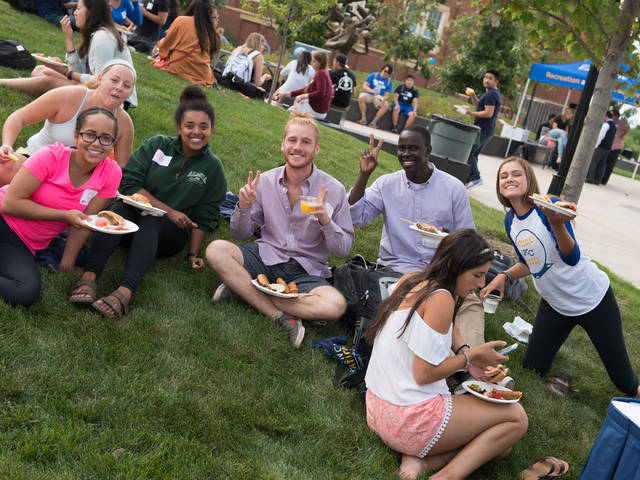 OMA picnic, Office of Multicultural Affairs