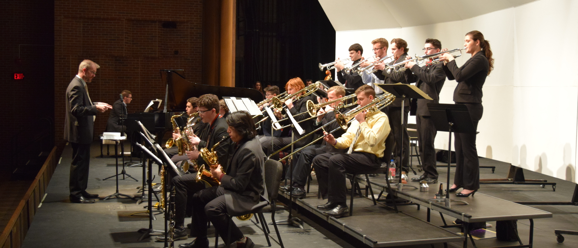 Jazz Ensemble III on Stage