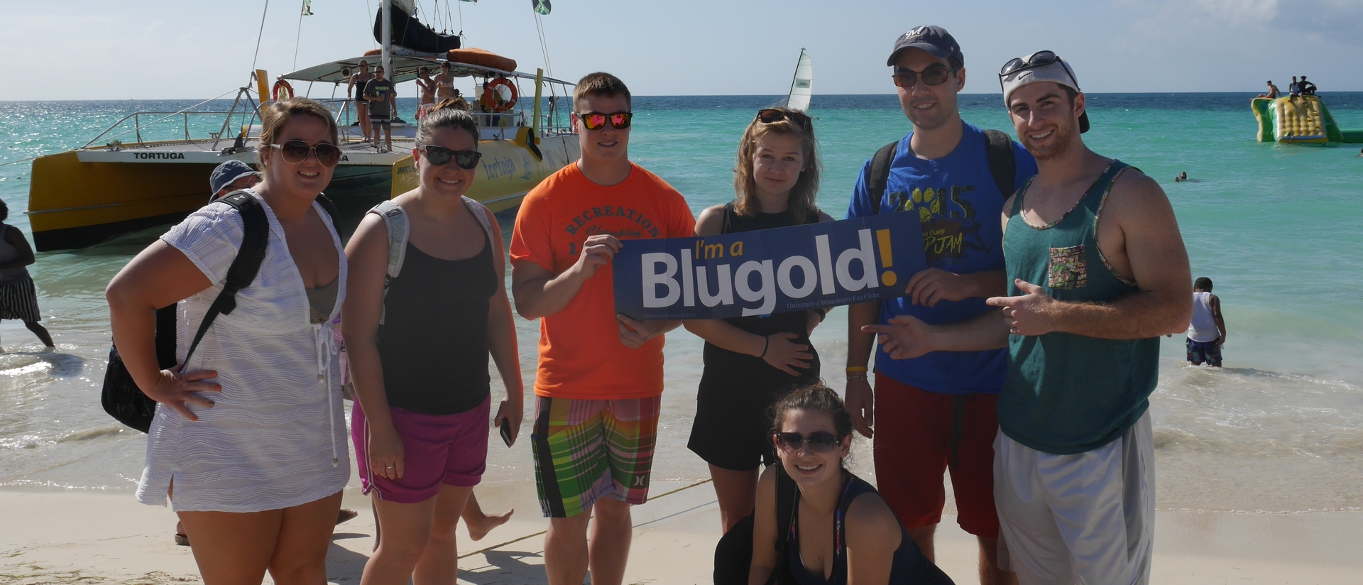 English students on immerison trip to Jamaica