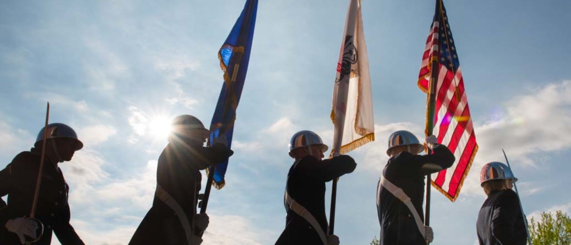 ROTC color guard