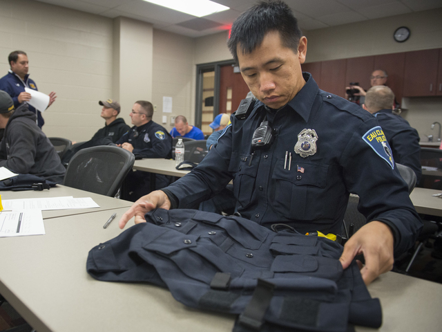 Mark Vang, an officer with the Eau Claire Police Department