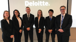 2017 Deloitte case competition winners