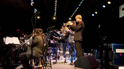 Hundreds of musicians transported us to 52nd Street for the Eau Claire Jazz Fest