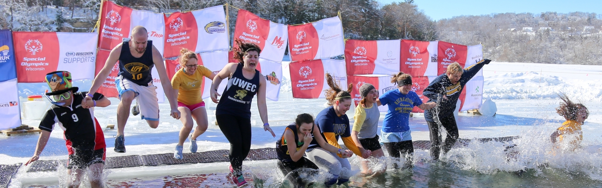 Special Olympics Polar Plunge.