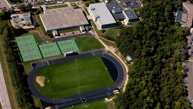 Birds eye view of McPhee
