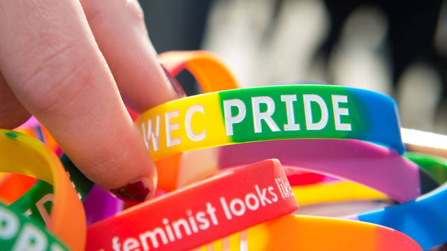 National Coming Out Day wristbands