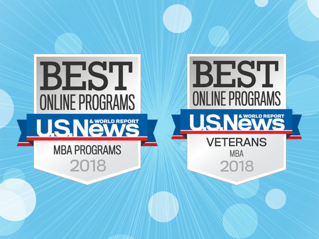 Image, Us News  Best online MBA Programs 2018, Best MBA Programs Veterans