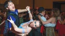 Dancers at Viennese Ball