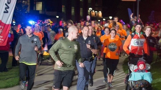 Running with cops