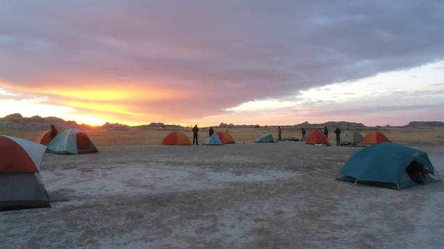 Geology Tents