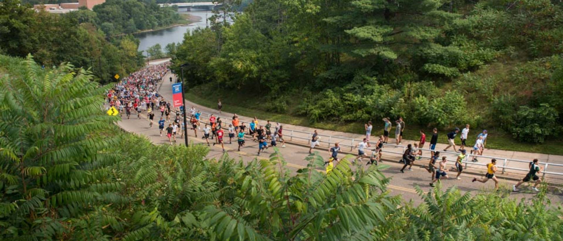 Hike the Hill run during Welcome Week 2017
