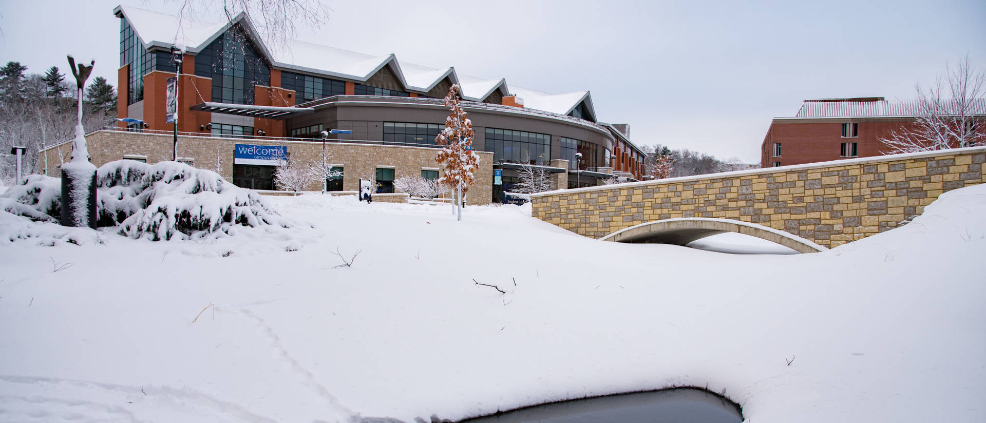 Davies Center winter photo