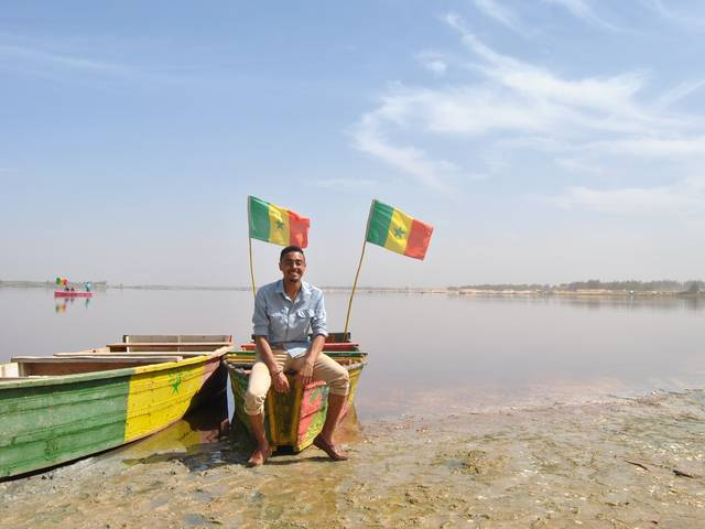 Larrick Potvin in Senegal