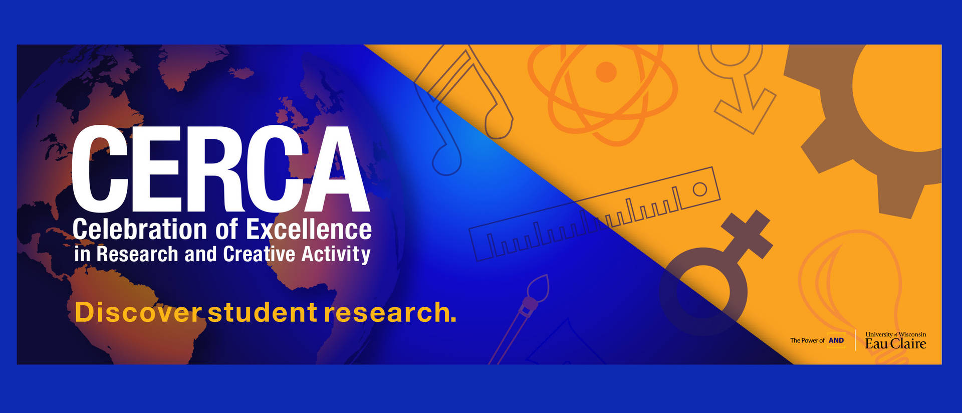 CERCA, A Celebration of Excellence in Research and Creative Activity