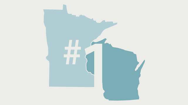 #1 in WI and MN