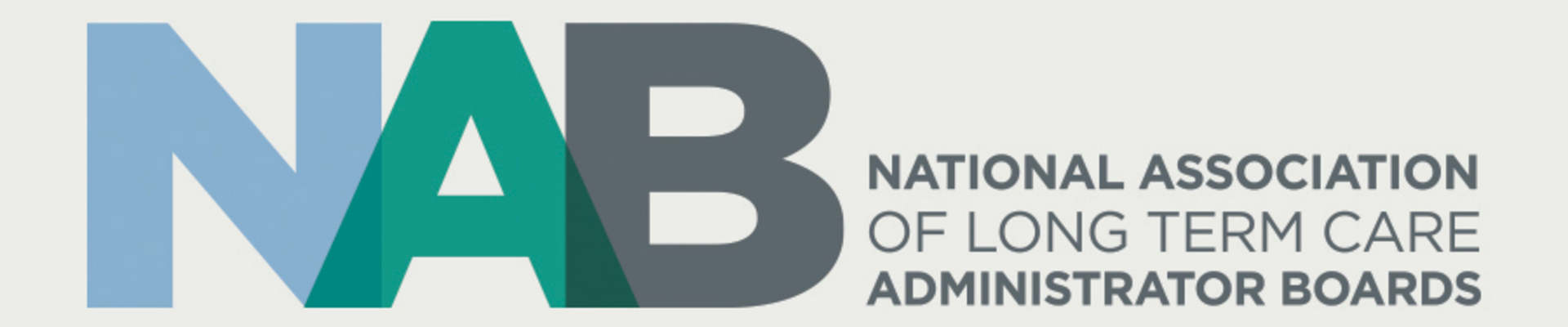 NAB National Association of long term care Administrator Boards
