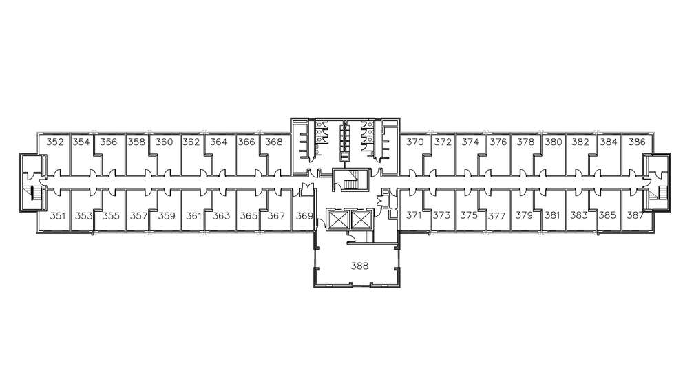 Towers North Floor Plan