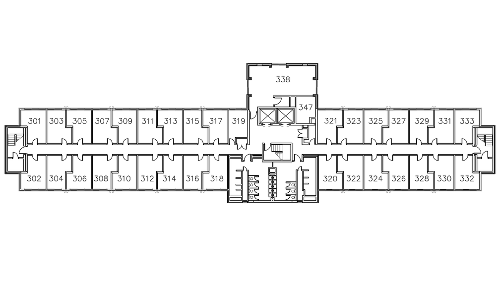 Towers South Floor Plan