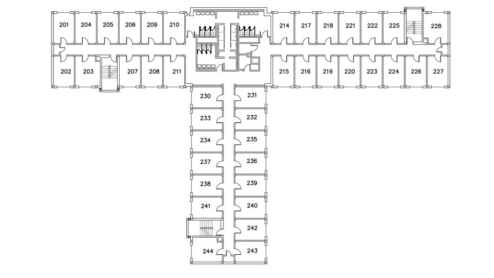 Murray Hall Floor Plan