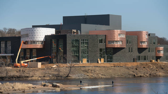 Confluence Arts Center in progress of being built