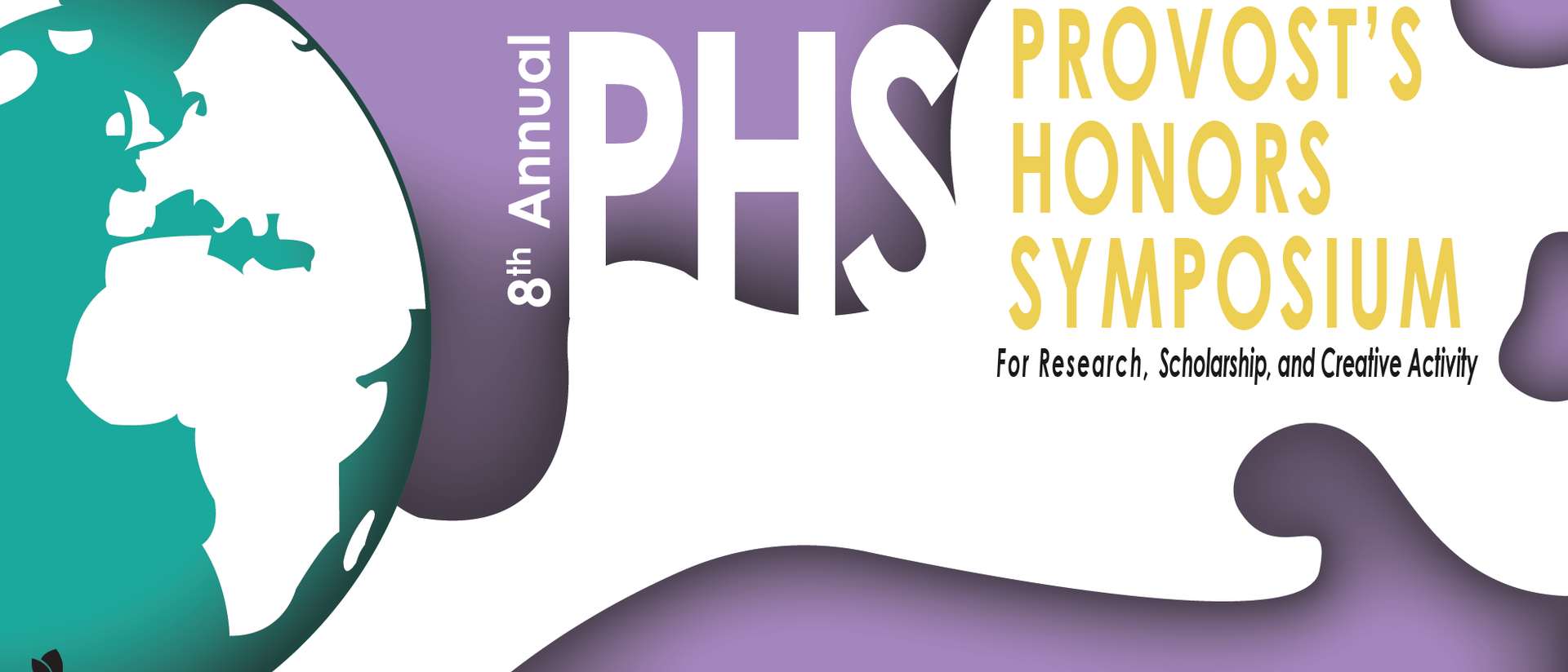 Provost Honors Symposium graphic web banner