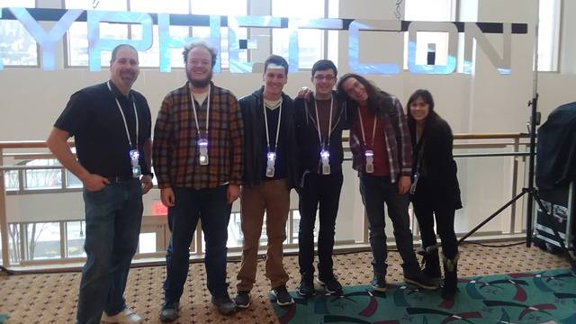 Students at CypherCon 3.0