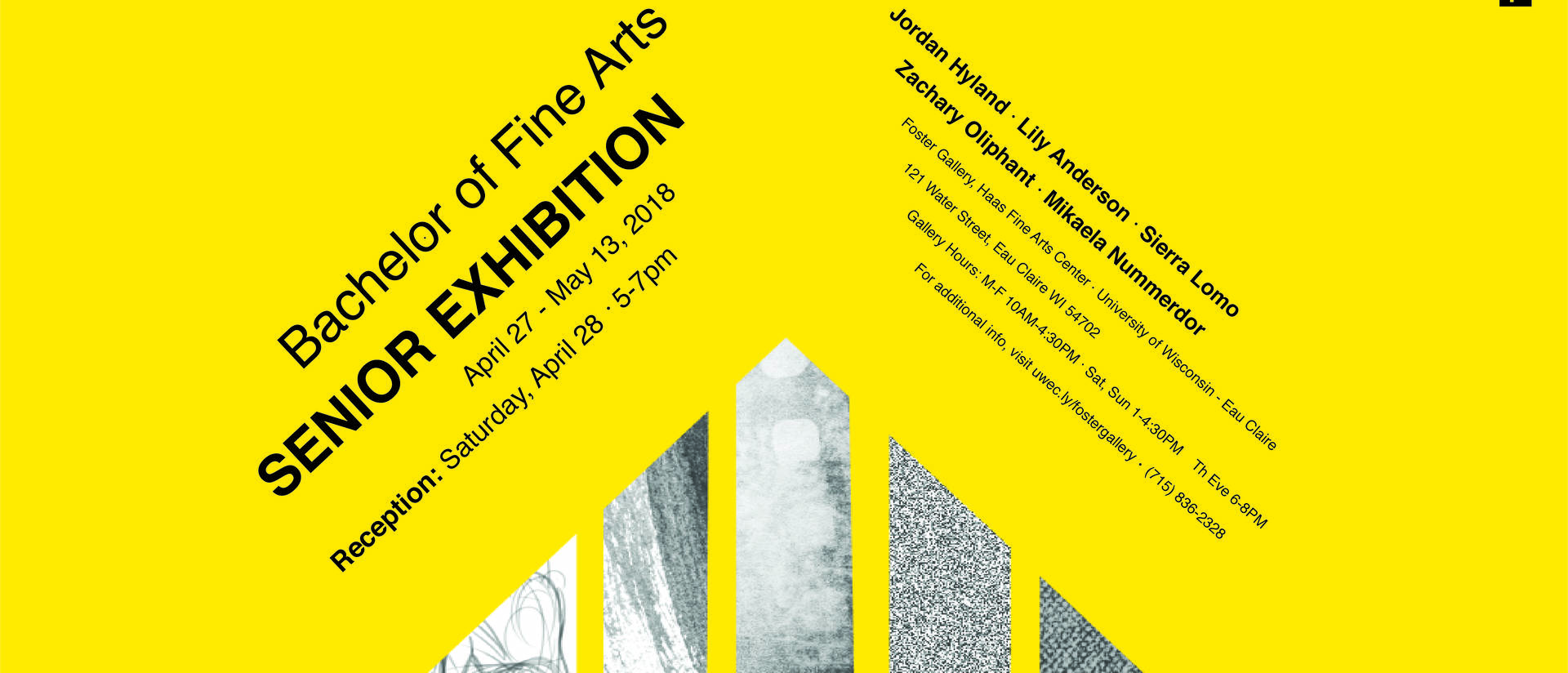 BFA Art Exhibit Spring 2018
