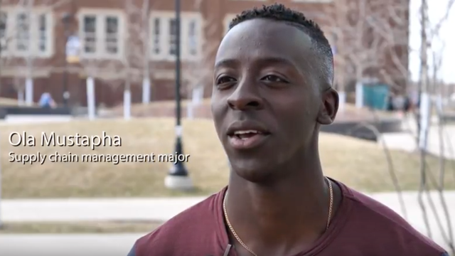 Graduating With a Job: Ola Mustapha