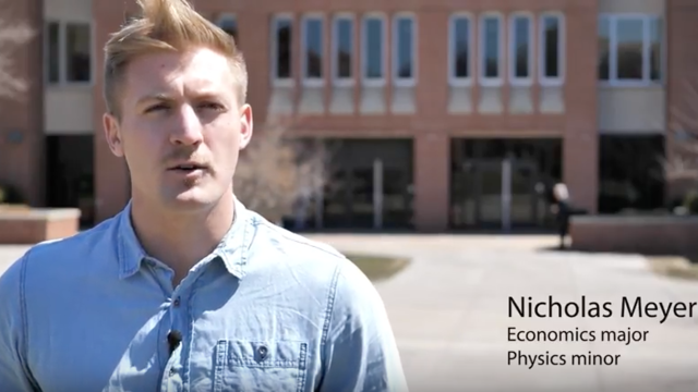 Graduating With a Job: Nicholas Meyer