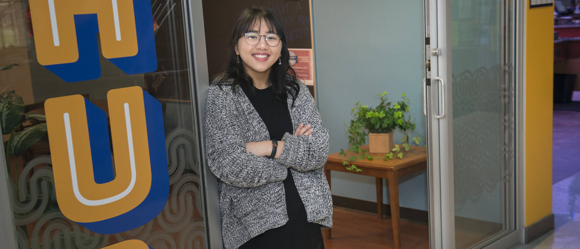 Helping to create the Hub, a space where Blugolds can find student resources, is among Amanda Thao's accomplishments.