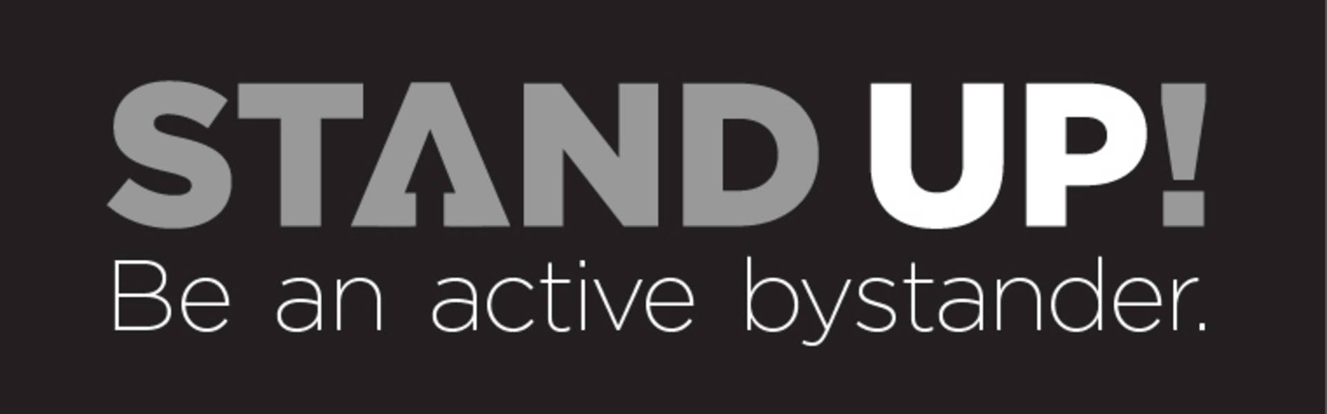 Logo for Stand UP! bystander training