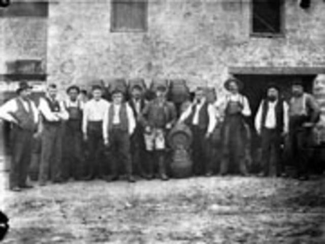Brewery Employees in the mid 1800's