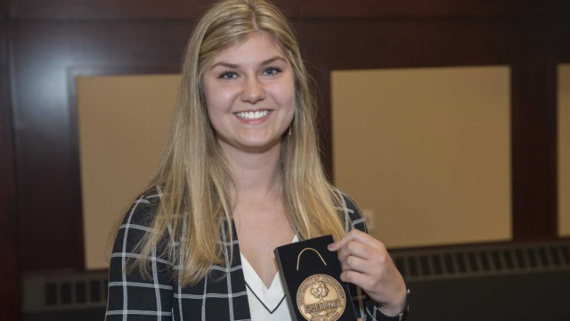 2018 Claire Mugge, Emerging Leader