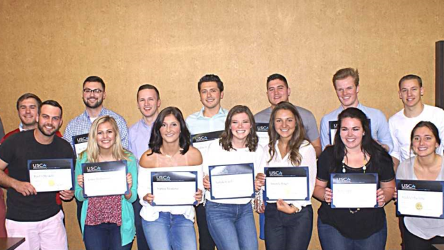 2018 Sales Certificate recipients